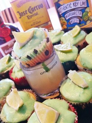 Cadillac Margarita Shot & Mini Cupcakes