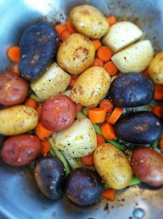 Potato Medley_Saute in Coconut Oil