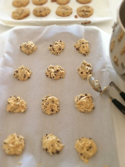Simply Classic Chocolate Chip Cookies with mini and white chocolate chips