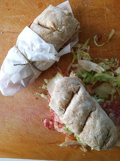 Artisan French Bread Sandwiches