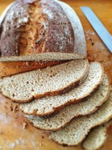 Sweet French Loaf_Free Form Sliced