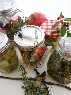 Natural Room Fresheners (gift-giving ideas), i.e., with The Cooking Apprentice LLC tag