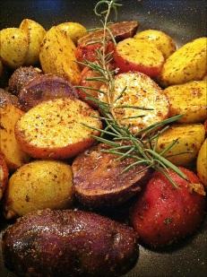 Sauteed Baby Potato Medley