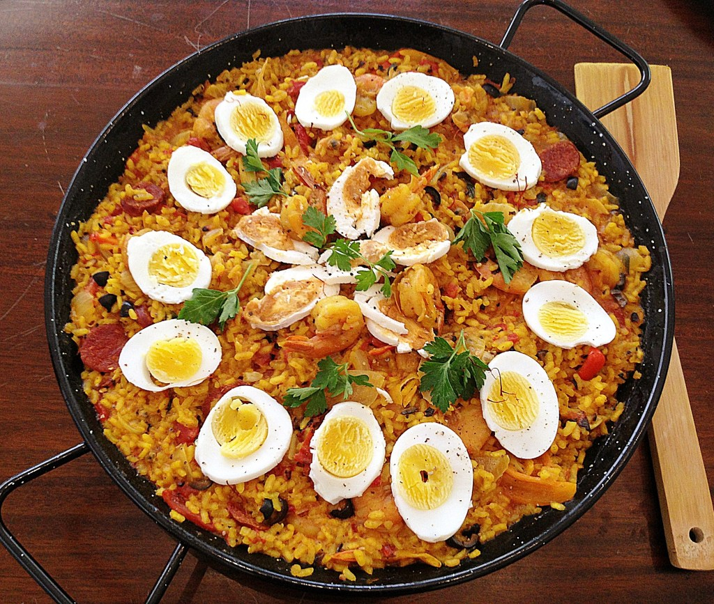 World-Fusion Paella