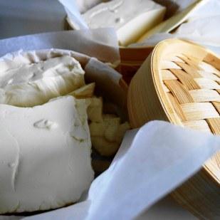 Makings of Taho_Silken Tofu
