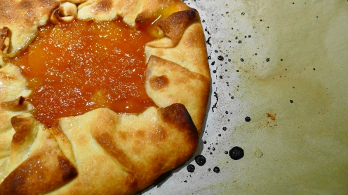 Apricot with Rum Galette