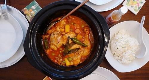 Slow Cooker Chicken Caldereta (Kalderetang Manok)