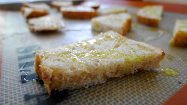 Sourdough bread prep_cut in halves/ or thirds