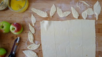 handcrafted leafs