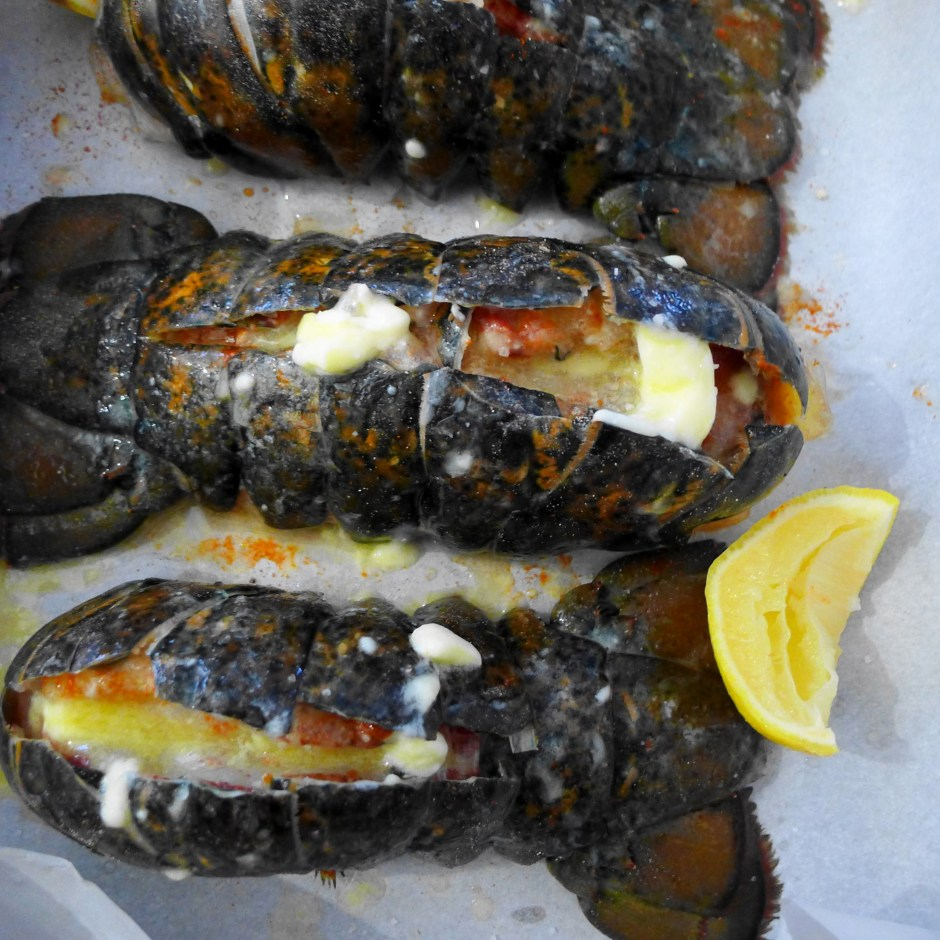 Lobster tails_prep