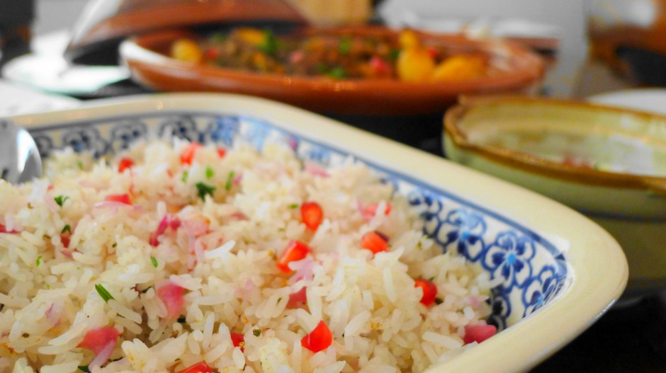 Pomegranate Rice