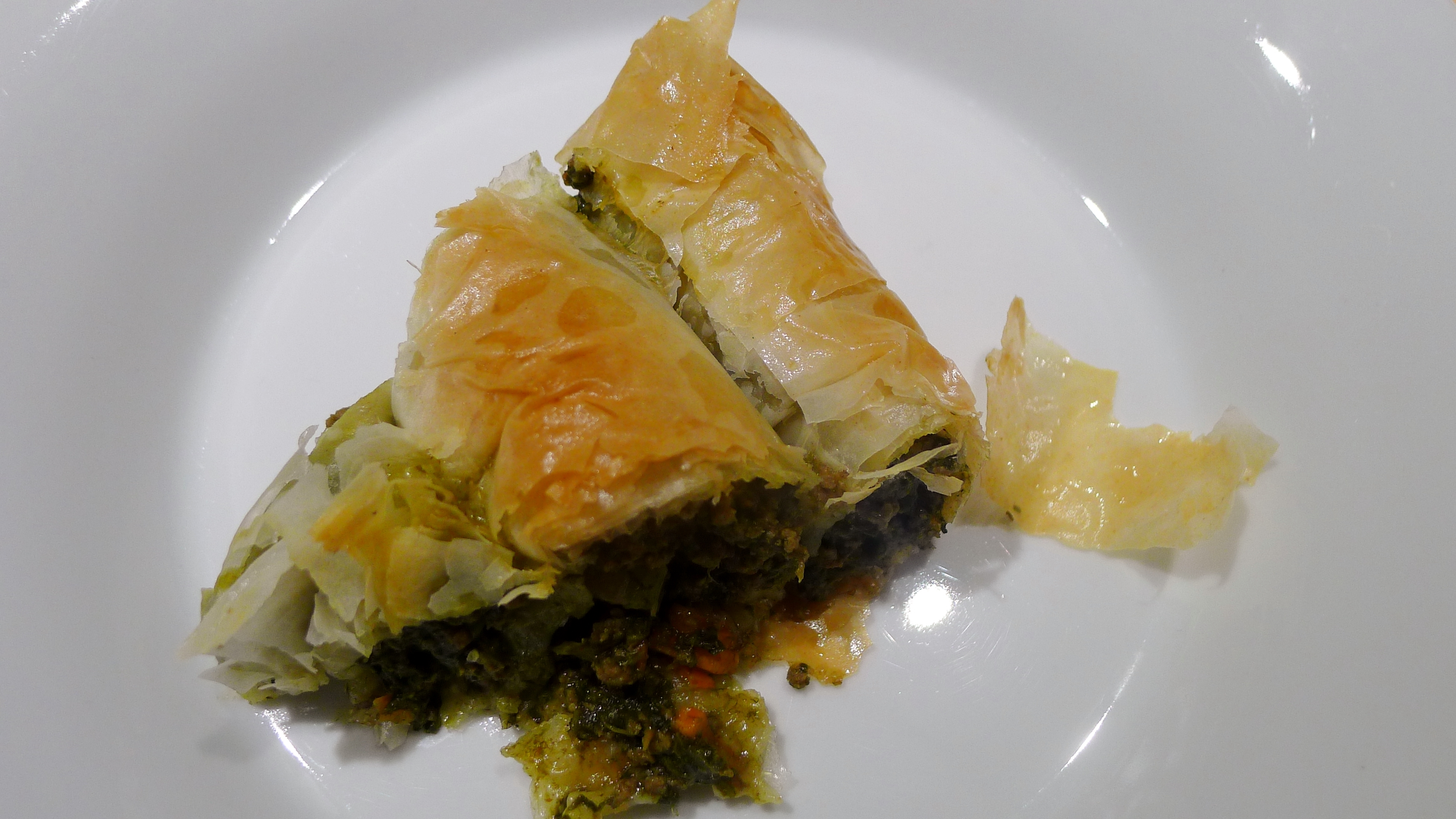 how to cook phyllo dough
