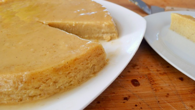 Sweet Potato Butter Rum Flan
