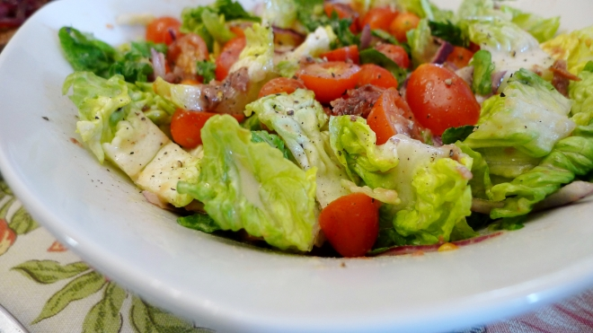 Tomato and Anchovy Salad