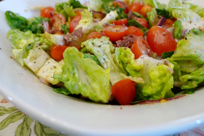 Tomato with Anchovy Salad | The Cooking Apprentice
