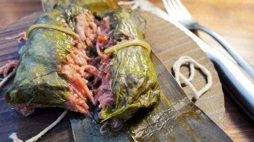 Pulled Pork Lechon Lau Lau
