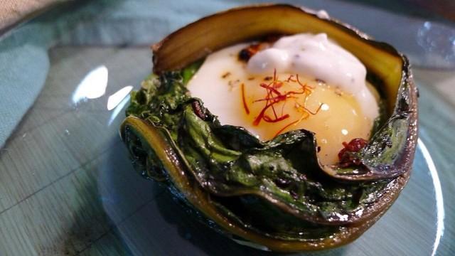 Swiss Chard Baked Eggs