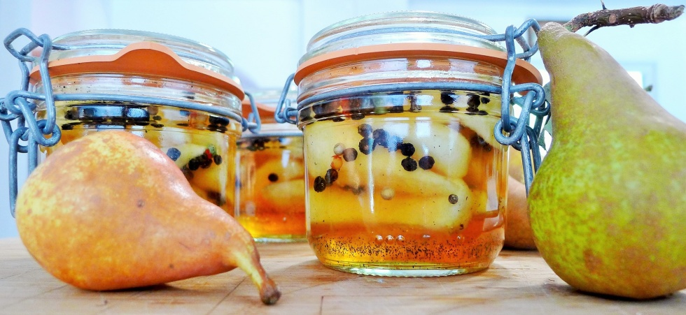 Pear and Vanilla Aigre-Doux