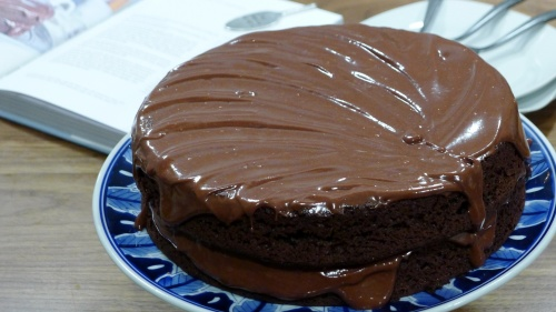 Family Chocolate Cake