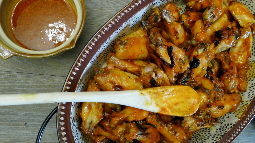 Chicken Tocino with Sauce