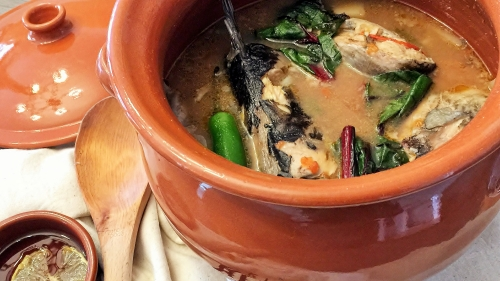 Catfish Soup in Miso
