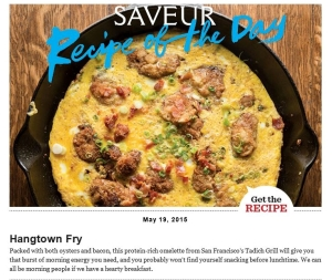 Saveur Magazine Recipe of the Day