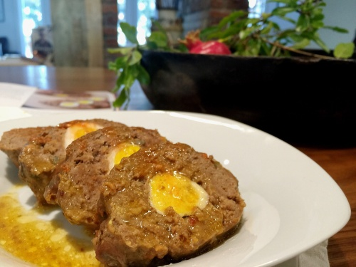 Filipino Meatloaf (Embutido)