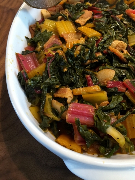 rainbow chard collard greens