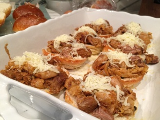Add-in mozzerella cheese (optional)